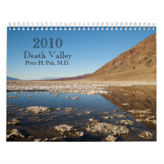 Death Valley 2010 Calendar