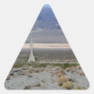 Death Valley 2 Triangle Sticker