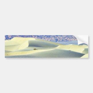 Death Valley abandona las dunas de arena Etiqueta De Parachoque