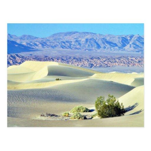 Death Valley abandona las dunas de arena Postales