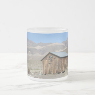 Death Valley - Ballarat Ghost Town Frosted Glass Coffee Mug