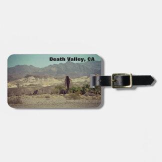 Death Valley, CA Luggage Tag