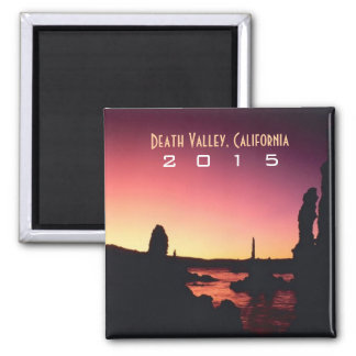Death Valley CA Souvenir Magnet Change Year