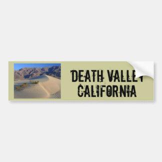 Death Valley California Pegatina De Parachoque