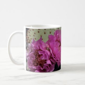 Death Valley Coffee Mug Beavertail Cactus