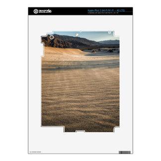 Death valley, desert natural sand dunes near devil skins for iPad 3