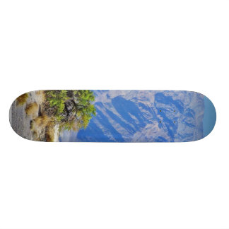 Death Valley Deserts Mountains Custom Skateboard