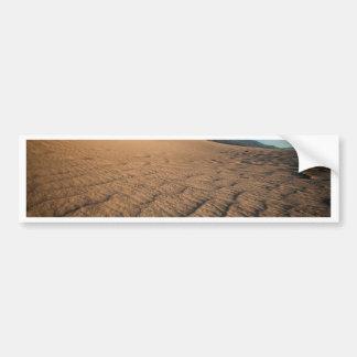 Death Valley, dunas de arena naturales del Pegatina Para Coche