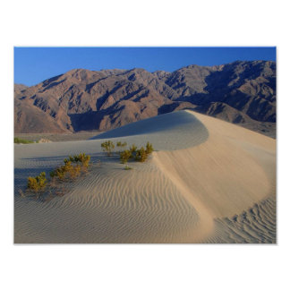 Death Valley Dunes and Mountains poster FROM 14.95