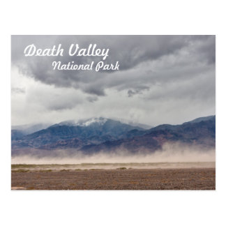 Death Valley Dust Storm Postcard