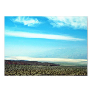 Death Valley From The Northeast 5x7 Paper Invitation Card