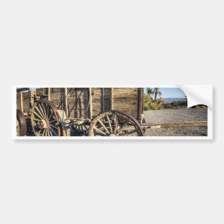 Death valley furnace creek ranch entry wreth carri bumper sticker