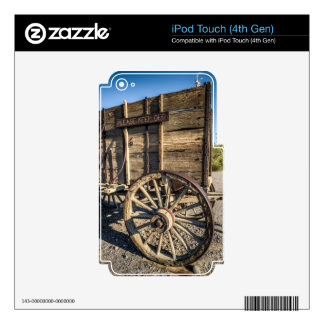Death valley furnace creek ranch entry wreth carri iPod touch 4G skins