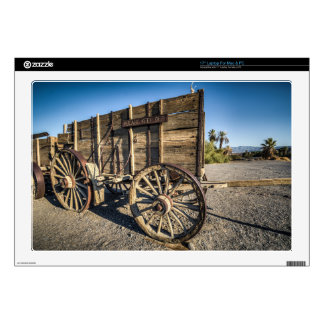 """Death valley furnace creek ranch entry wreth carri 17"""" laptop decal"""