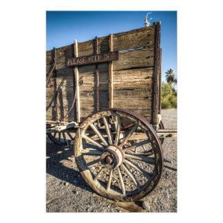Death valley furnace creek ranch entry wreth carri stationery