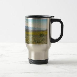 Death Valley in Bloom 15 Oz Stainless Steel Travel Mug
