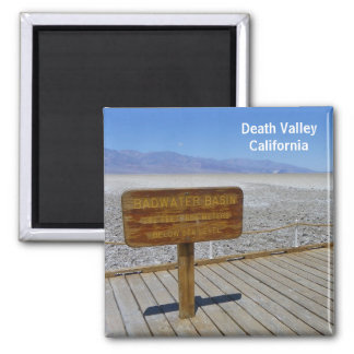 Death Valley Magnet! 2 Inch Square Magnet