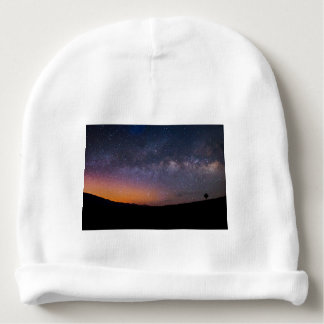 Death Valley milky way Sunset Baby Beanie