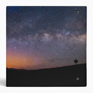 Death Valley milky way Sunset Binder