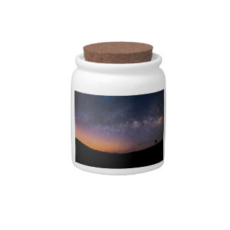 Death Valley milky way Sunset Candy Jars