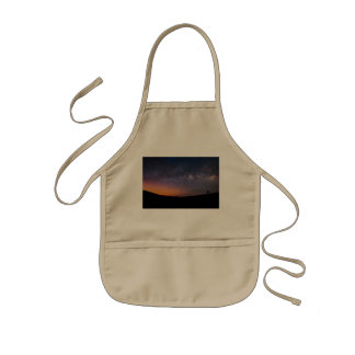 Death Valley milky way Sunset Kids' Apron