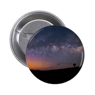 Death Valley milky way Sunset Pinback Button