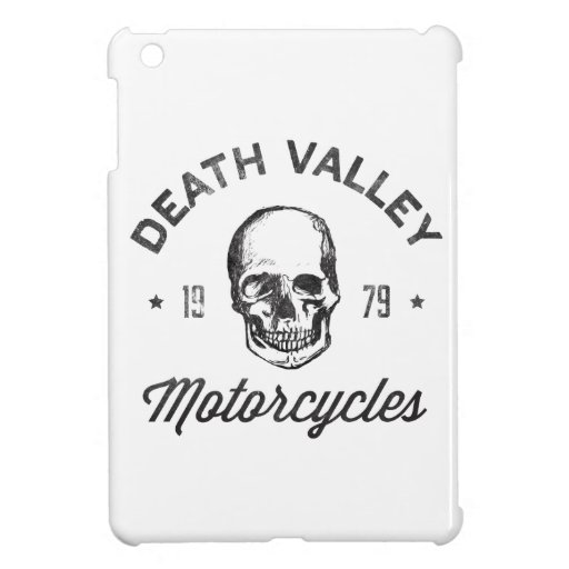Death Valley Motorcycles iPad Mini Case