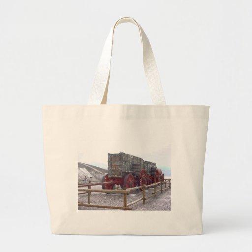 DEATH VALLEY MULE TRAIN CANVAS BAG