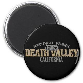 Death Valley National Park 2 Inch Round Magnet