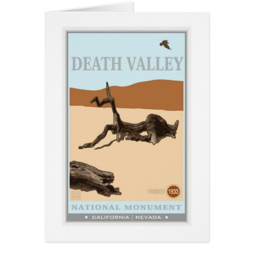 Death Valley National Park 4 Greeting Card
