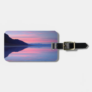 Death Valley National Park. Badwater at dawn Luggage Tag
