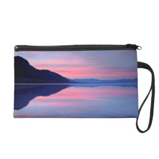 Death Valley National Park. Badwater at dawn Wristlet Purse