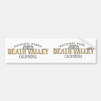 Death Valley National Park Bumper Stickers