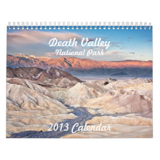 Death Valley National Park Calendar