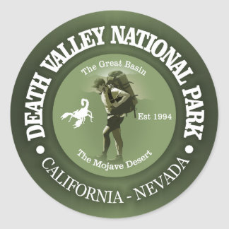 Death Valley National Park Classic Round Sticker