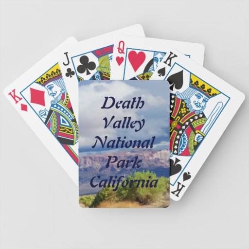 Death Valley National Park  Deck of Playing Cards Bicycle Playing Cards