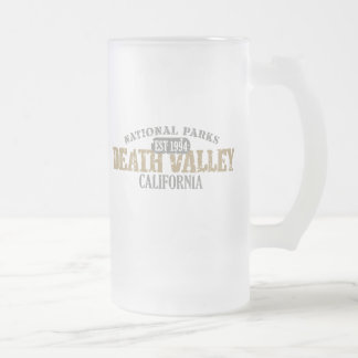 Death Valley National Park Frosted Glass Beer Mug