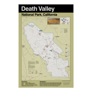 Death Valley National Park Large Poster