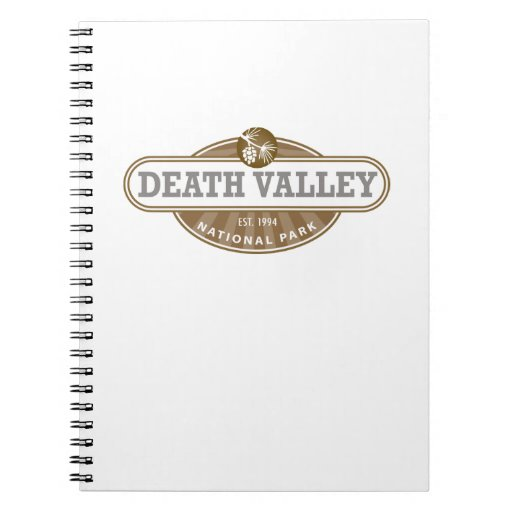 Death Valley National Park Note Books