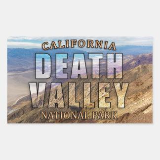 Death Valley National Park Rectangular Sticker