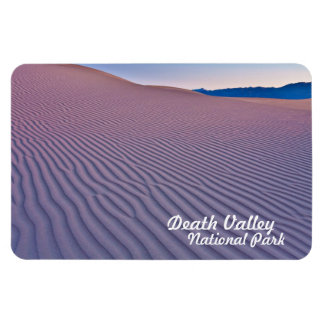 Death Valley National Park Sand Dunes Rectangular Photo Magnet