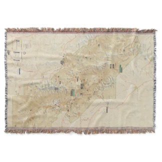 Death Valley National Park throw blanket