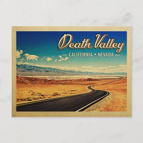 Death Valley National Park Vintage Travel Postcard