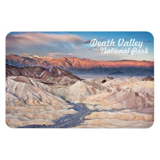 death valley national park zabriskie point view magnet zazzle com