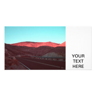 Death Valley Personalized Photo Card