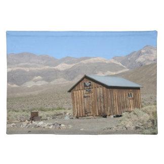 Death Valley - pueblo fantasma de Ballarat Mantel