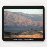 Death Valley - punto de Zabriskie Tapetes De Raton