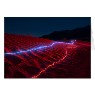 Death Valley Red Dunes 6945 Card
