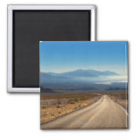 Death Valley road 3 California USA 2 Inch Square Magnet