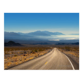 Death Valley road 3 California USA Postcard